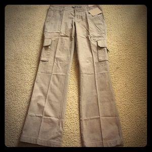 Dickies Pants - NWT! Dickies Straight Leg Tan Cargo Pants Sz. 6R