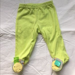 Taggies Other - Baby footie pants