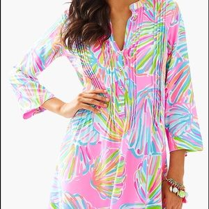 NWT Lilly Pulitzer Sarasota Tunic Dress, Sz L