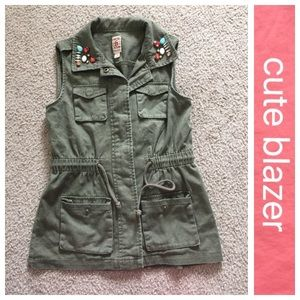 Mth Degree Jackets & Blazers - 3 for $20 Army green vest