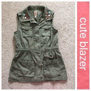 Mth Degree Jackets & Blazers - Army green vest