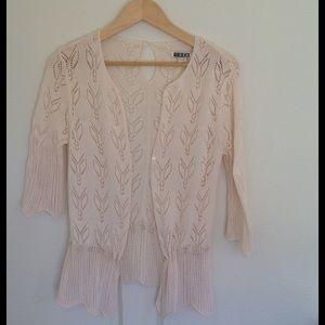 Billabong Sweaters - Eyelet Knit Cardigan