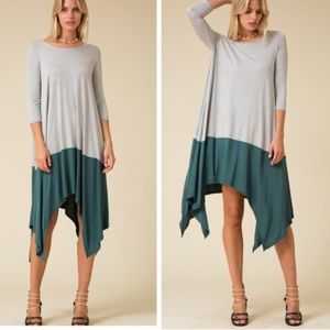 •color block dress•