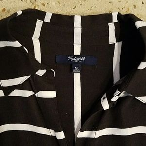 Madewell Tops - NWOT drapey madewell striped tunic top