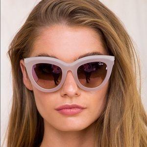 Quay Eclipse Pink/Pink Mirror Sunglasses