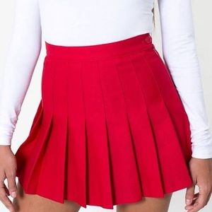 Brand new with tags red American apparel skirt