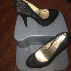 Rachel Roy platform pumps