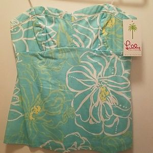 Lilly Pulitzer Tops - Lilly Pulitzer Calista Top size 12 NWT