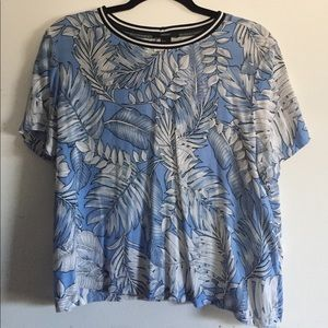 Tropical Print Top