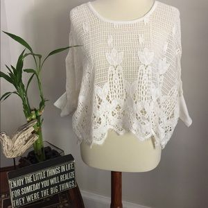 Love Stitch Tops - Love every stitch in this Boho style crochet top.