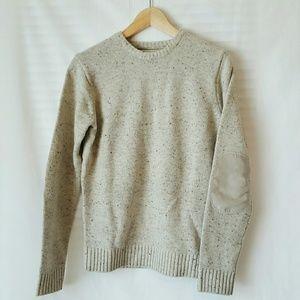 Frank & Oak Other - NWOT Frank + Oak Grey Elbow Patch Sweater