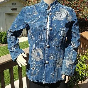 Chico's Jackets & Blazers - Stunning Chico's Jacket - Chico's Size 1. NWOT