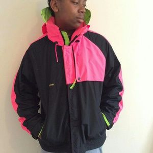 Columbia Other - Retro Highlighter Columbia Sportswear Ski Jacket