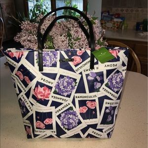 "kate spade Handbags - KATE SPADE-""Turn Over a New Leaf""- SEEDPACKET🌺🌹"