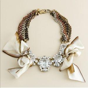 J. Crew Jewelry - J. CREW FENTON FALLON CARRINGTON BOW NECKLACE