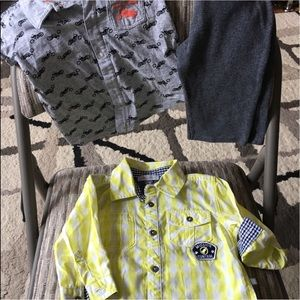 Petit Lem Other - ⏳kids bundle of 3 (2shirts+1pants) 12m for boys