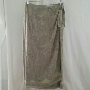 Valerie Stevens Dresses & Skirts - Vintage paisley 100% silk skirt