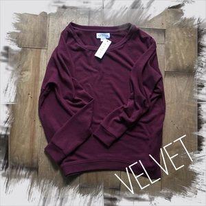 Velvet Tops - Velvet by Graham & Spencer Lounge Sweatshirt Top S