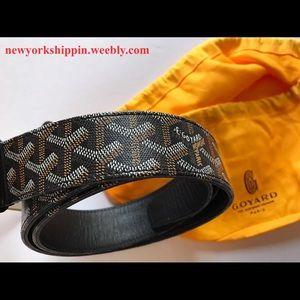 Goyard Other - Official men's black Goyard belt