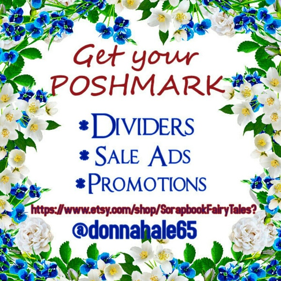 get your poshmark closet ads and dividers xl from donna 39 s. Black Bedroom Furniture Sets. Home Design Ideas