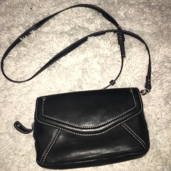 652897dc49 Clarks Handbags - Clarks Black CrossBody Bag