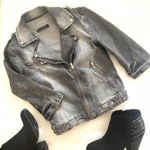 Zara Jackets & Blazers - Zara moto jacket
