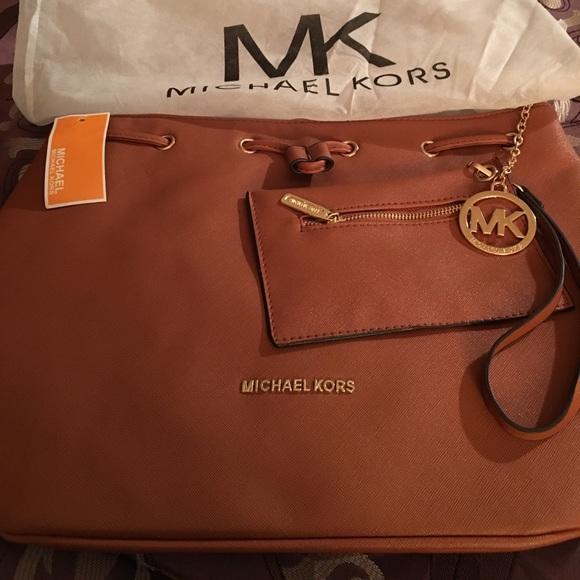 b96051fe0a6f03 Michael Kors Bags   Large Brown Bag Designer Inspired   Poshmark