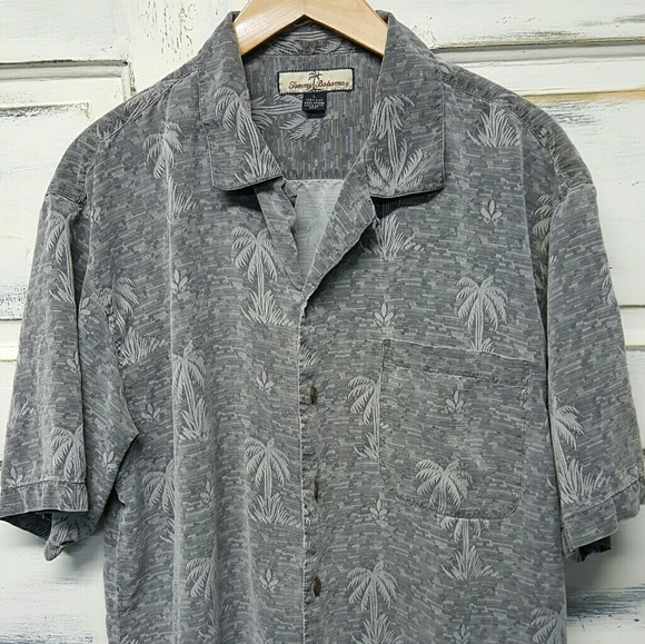 71 off tommy bahama other tommy bahama silk shirt size for Do tommy bahama shirts run big
