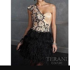 Terani Couture Dresses & Skirts - Terani Couture One Shoulder Dress