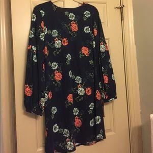 Merona Xavier Navy Print Dress