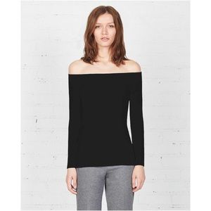 Bailey 44 Tops - Black Off the Shoulder Top