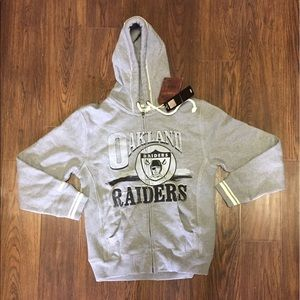 Mitchell & Ness Other - Mitchell & Ness Oakland Raiders Zip Up Hoodie SM