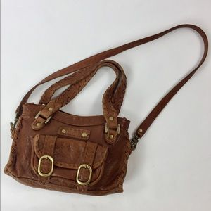 Carla Mancini Handbags - Carla Mancini hand crafted leather bag