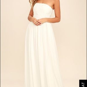 Dresses & Skirts - 🎉SALE 🎉 strapless wedding gown