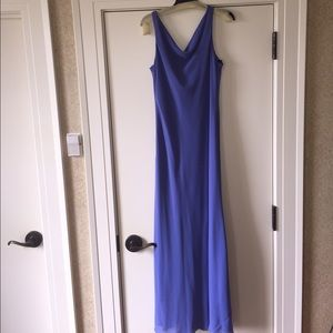 Chadwicks Dresses & Skirts - Euc Chadwick's periwinkle maxi dress size 14