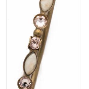 Sorrelli Jewelry - Sorrelli Mixed Media Hoop Earrings in Apricot
