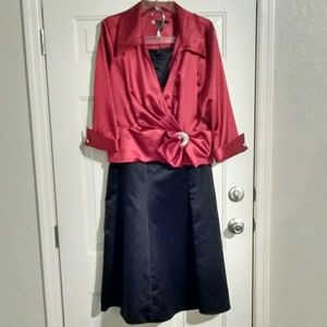 JS Boutique Dresses & Skirts - Beautiful Formal Wrap Jacket & Skirt Set