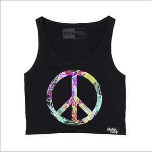 Electric Family Tops - Peace tank top