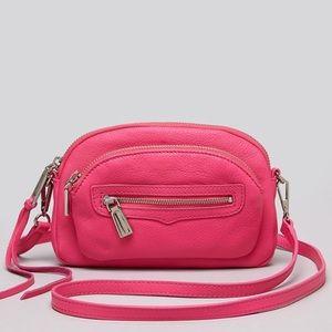 Rebecca Minkoff Handbags - Rebecca Minkoff hot pink 'jelly bean' purse.
