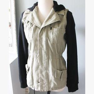 Olive & Black Utility Jacket