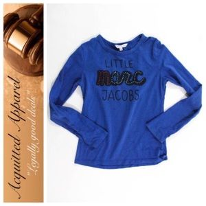 Little Marc Jacobs Other - [Little Marc Jacobs] {NWT} Blue Tee Embellished