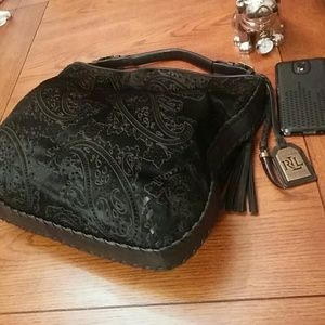 Ralph Lauren Handbags - 🆕Ralph Lauren Clayton hobo haircalf leather bag