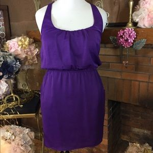 City Triangles Dresses & Skirts - City Triangles purple razor back dress
