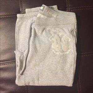 Aerie The Girly Crop Sweat Pants Large