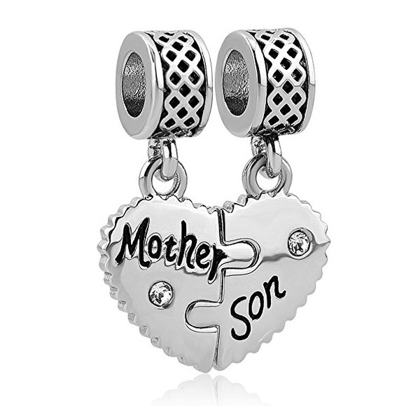 pandora charm mother and son