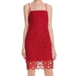 Nicholas Dresses & Skirts - N Nicholas Red Lace Dress