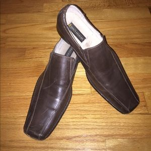 Brown Leather Stacy Adams Size 10