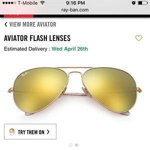 Ray-Ban Accessories - Ray ban aviators