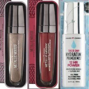 Hard Candy Other - Bundle of Metallic Matte Lipstick & Primer Mist