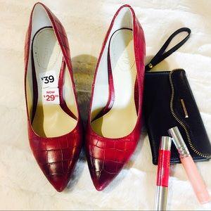 Studio Paolo Shoes - Paolo Burgundy Heels